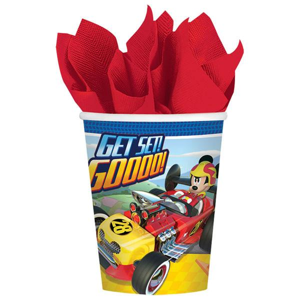 9 oz. Mickey Mouse Roadster Cups