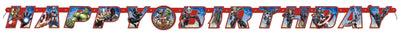 Avengers Large Jointed Banner  1 ct.