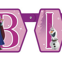 Disney Frozen Large Jointed Banner  1 ct.