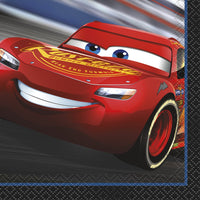 Disney Cars 3 Movie Beverage Napkins 16ct