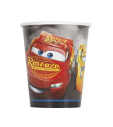 Disney Cars 3 Movie 9oz Paper Cups 8ct