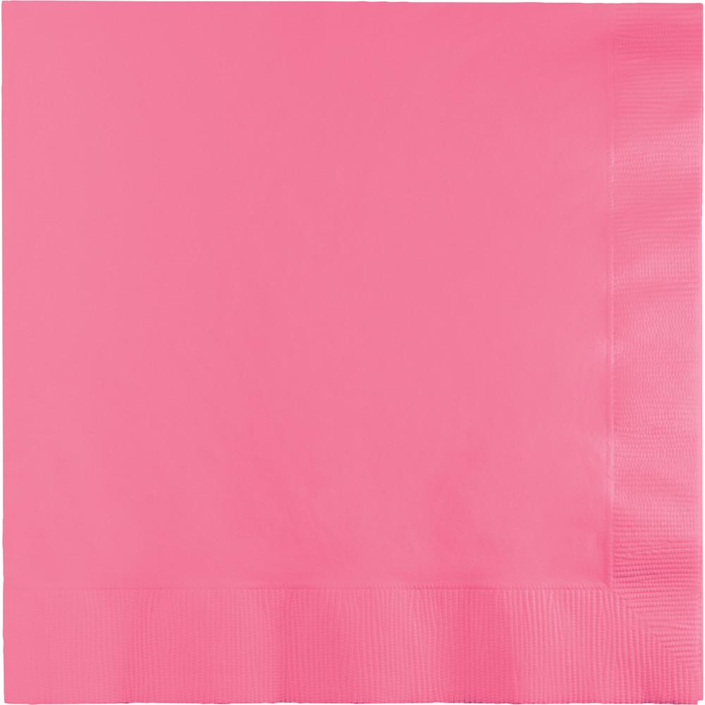 Candy Pink Lunch Napkins 50 ct.