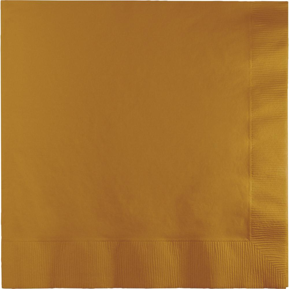 Glittering Gold Luncheon Napkins 50 ct.