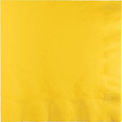 School Bus Yellow Luncheon Napkins 50 ct.