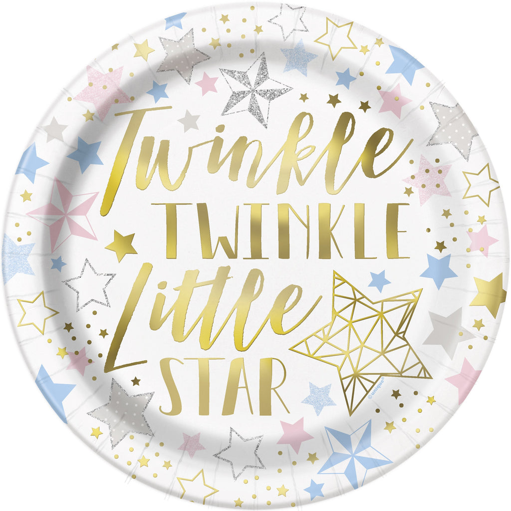 Twinkle Little Star Dinner Plates 8 ct.