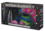 Neon Dots New Years Party Kit for 8