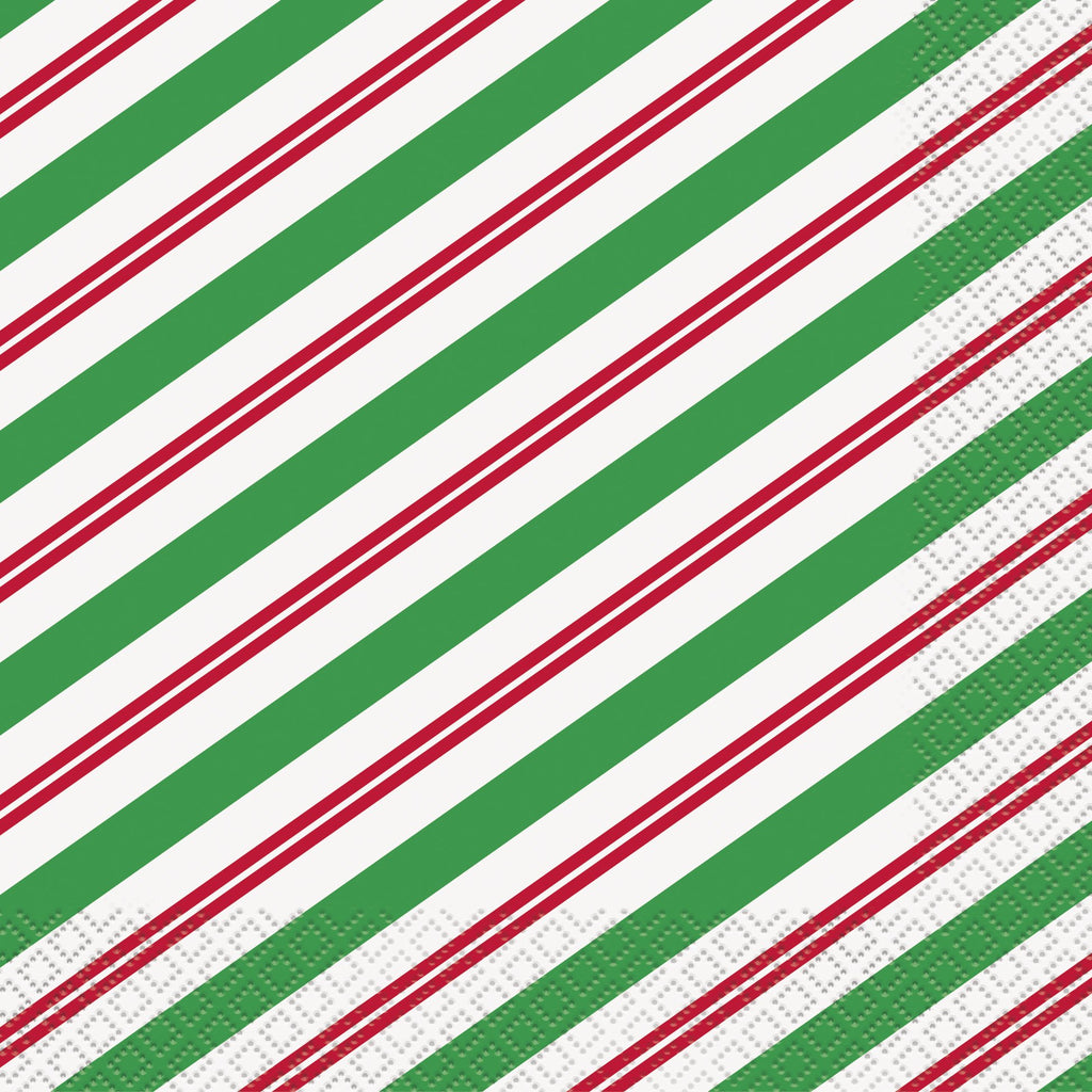 Peppermint Christmas Luncheon Napkins  16ct