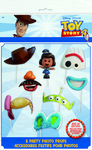 Disney Toy Story 4 Photo Booth Props 8 ct.