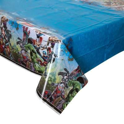 Avengers Rectangular Plastic Table Cover 54