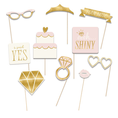 Bride To Be Photo Props Kit  1 ct.
