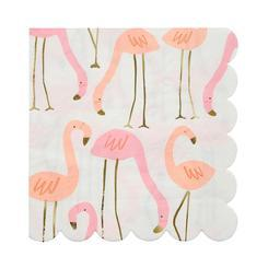 Flamingo Lunch Napkins 16 ct.