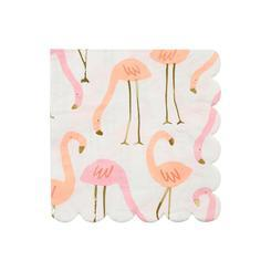 Flamingo Beverage Napkins 16 ct.