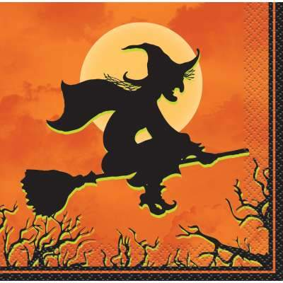 Haunted House Beverage Napkins  24ct