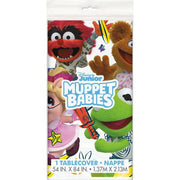 Disney Muppet Babies Rectangular Plastic Tablecover 54 in. X 84 in.  1 ct.