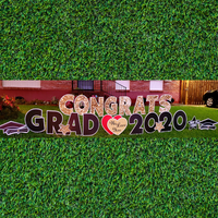 Congrats Grad WEEKDAY Yard Card Rental