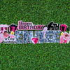 Happy Birthday Flash Card! WEEKEND Yard Card Rental