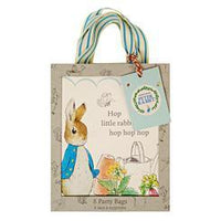 Peter Rabbit Party Bgs 8ct.