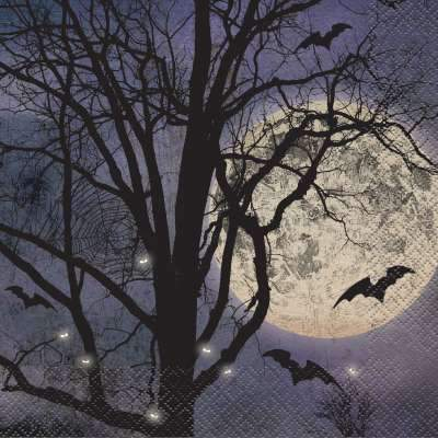 Spooky Night Luncheon Napkins  16ct
