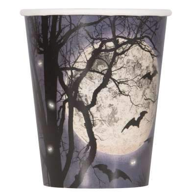 Spooky Night 9oz Paper Cups  8ct