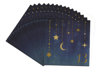 Starry Night 13 Beverage Napkins  16 ct.
