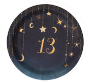 Starry Night 13 Dessert Plates 8ct.