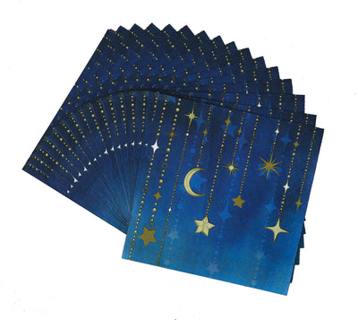 Starry Night Luncheon Napkins 16 ct.