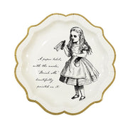Truly Alice Paper Plate   12 ct.