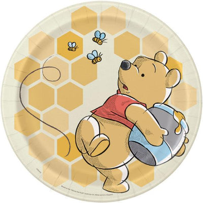 9 in. Disney Winnie the Pooh Lunch Plates 8 ct.