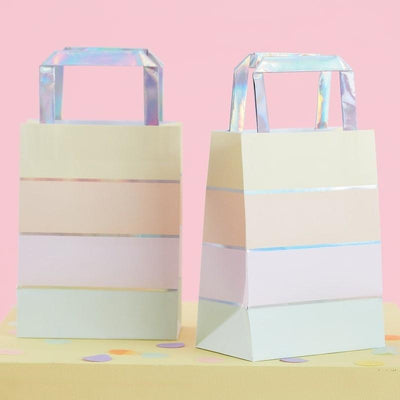 Ginger Ray Pastel Party Iridescent Foiled Party Bags 5 ct.
