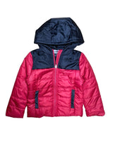 Boy's Zipper Hooded Puffer Jacket