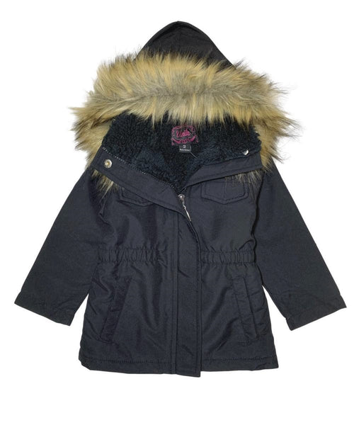 Girl's Sherpa Lined Utility Coat