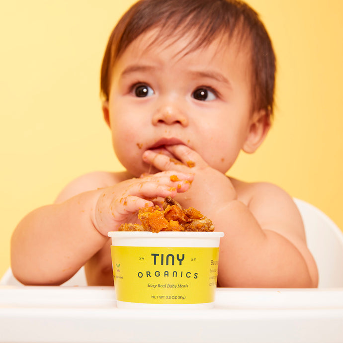 Tiny Feeding Guide: 0 - 6 Months