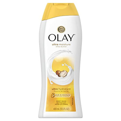 Olay Ultra Moisture Body Wash With Shea Butter, 13.5 oz, Packaging May Vary
