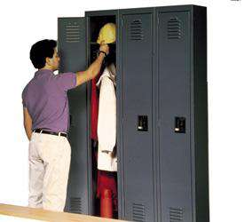 Traditional Single Tier Lockers - One Wide