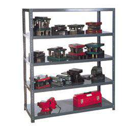 Extra Heavy Duty 14-Gauge Steel Shelving Post