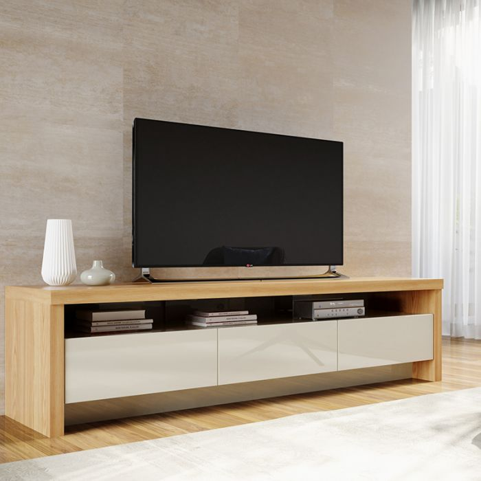 3-Drawer Versatile Sylvan TV Stand