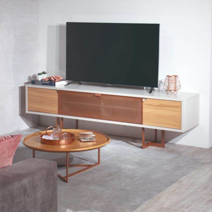 Knickerbocker Drop Down Door TV Stand