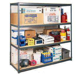 Rivet Lock Boltless Bulk C-Beam Storage Rack