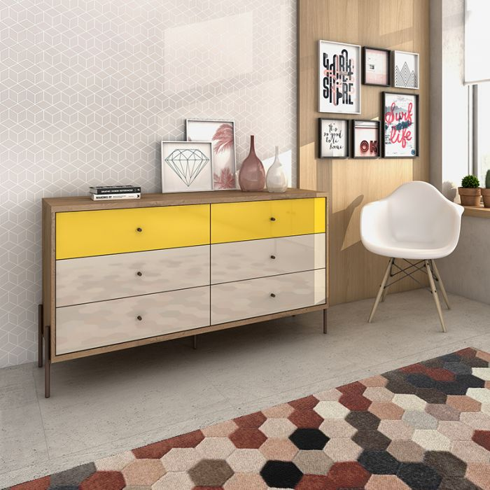 Joy Dresser with Full-Extended Drawers