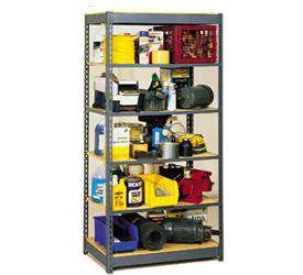 Rivet Lock Shelving