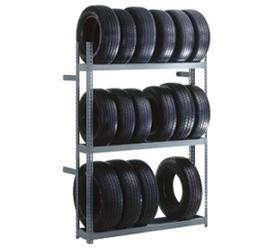 Rivet Lock Boltless Tire Rack