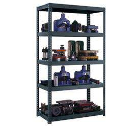 High Capacity 2600 Capacity Boltless Shelving