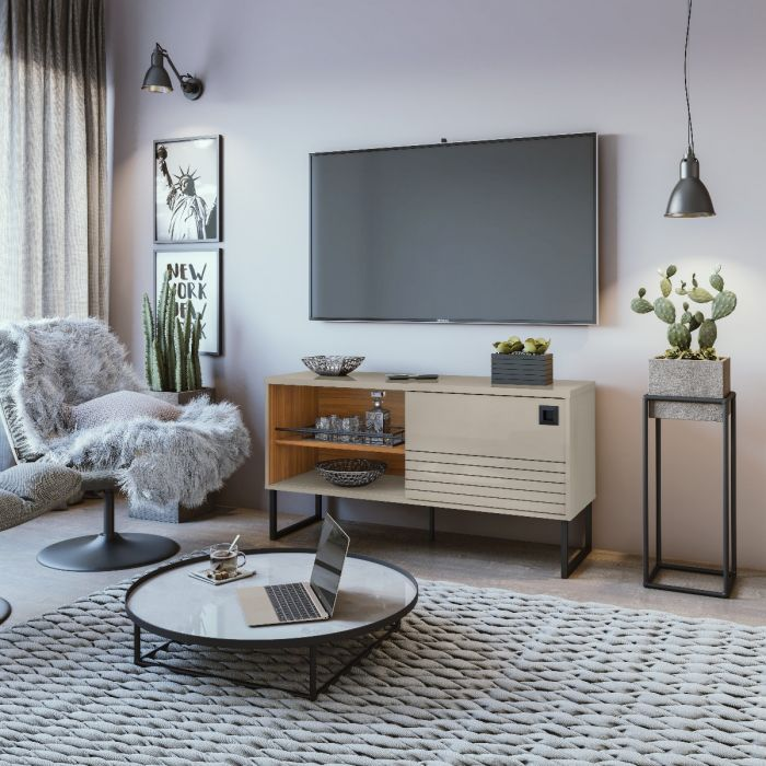 Multifunctional Storage Loft TV Stand