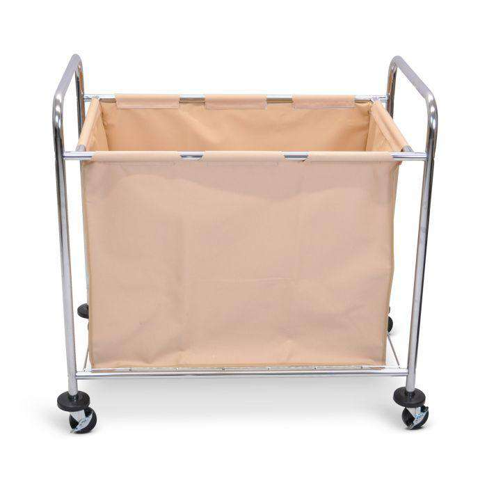 Laundry Cart - Steel Frame and Canvas Bag
