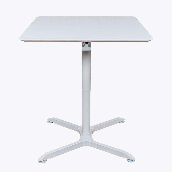 Pneumatic Height Adjustable Square Café Table