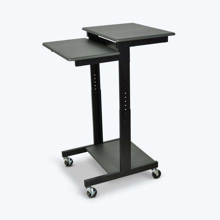 Adjustable-Height Presentation Workstation