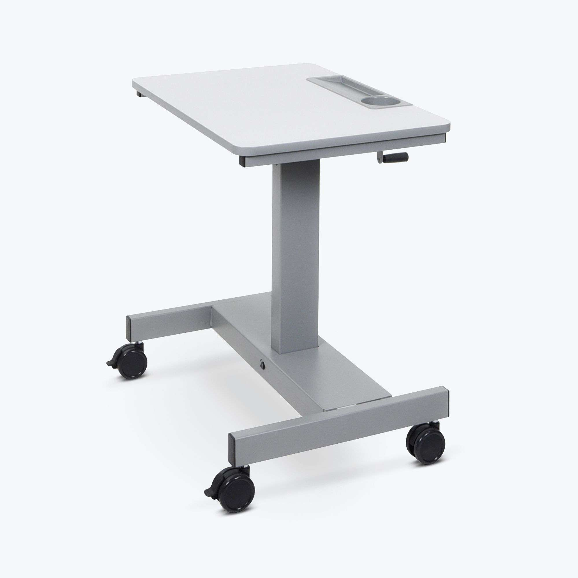 Student Desk - Sit Stand Desk with Crank Handle Short Version