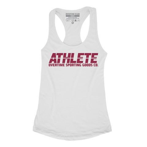 WHITE ATHLETE VEST