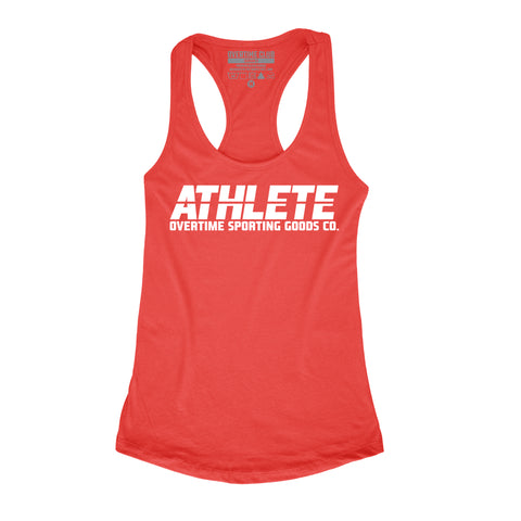 RED ATHLETE VEST
