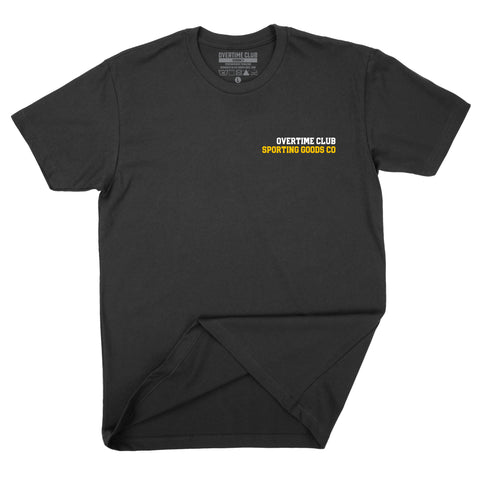 Black Sporting Goods Co. T-shirt